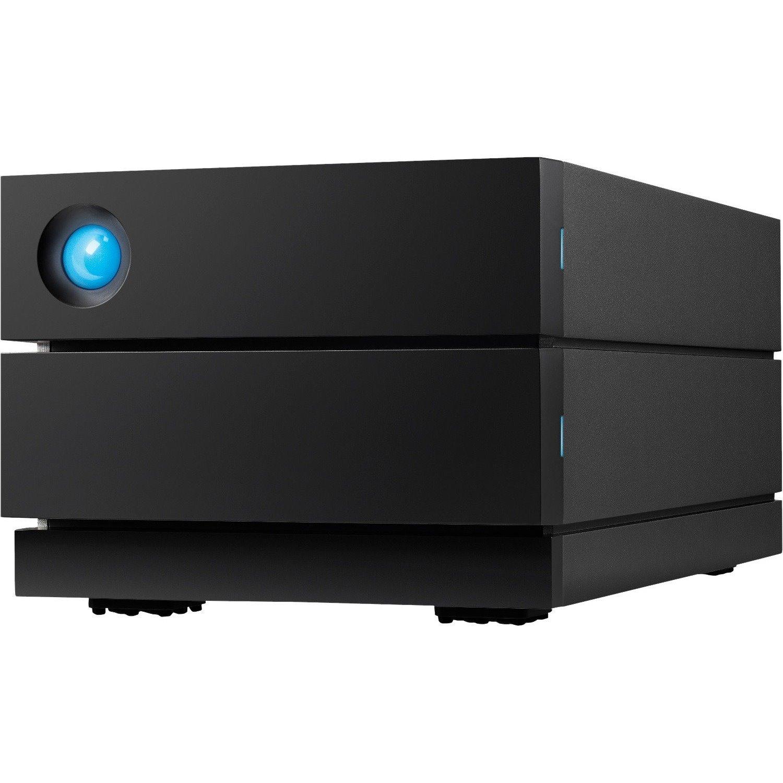 LaCie 2big STHJ8000800 2 x Total Bays DAS Storage System Desktop