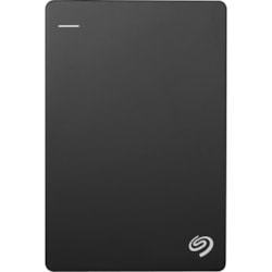 Seagate Backup Plus Slim STHN1000400 1 TB Portable Hard Drive - External - Black