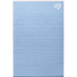 Seagate Backup Plus Slim STHN2000402 2 TB Hard Drive - External - Portable - Light Blue