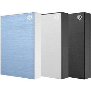 "Seagate Backup Plus STHP4000401 4 TB Portable Hard Drive - 2.5"" External - Silver"