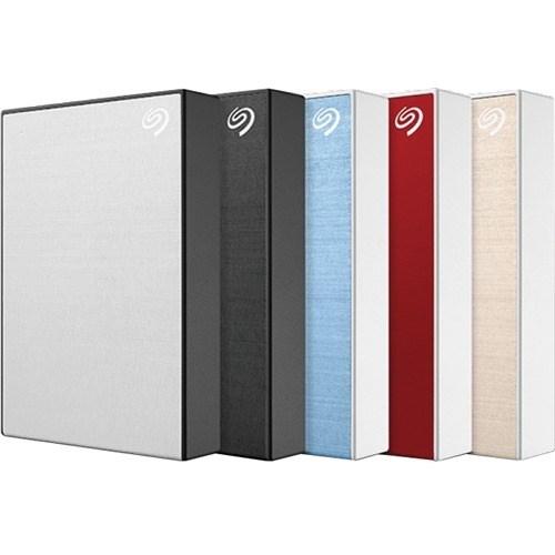 "Seagate Backup Plus Portable STHP4000403 4 TB Portable Hard Drive - 2.5"" External - Red"