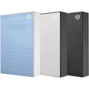 Seagate Backup Plus STHP5000401 5 TB Portable Hard Drive - External - Silver