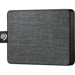 Seagate One Touch STJE1000400 1 TB Portable Solid State Drive - External - Black