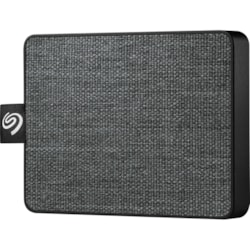 Seagate One Touch STJE500400 500 GB Portable Solid State Drive - External - Black