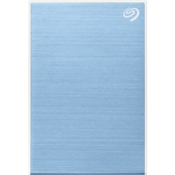 "Seagate One Touch STKB1000402 1 TB Portable Hard Drive - 2.5"" External - Light Blue"