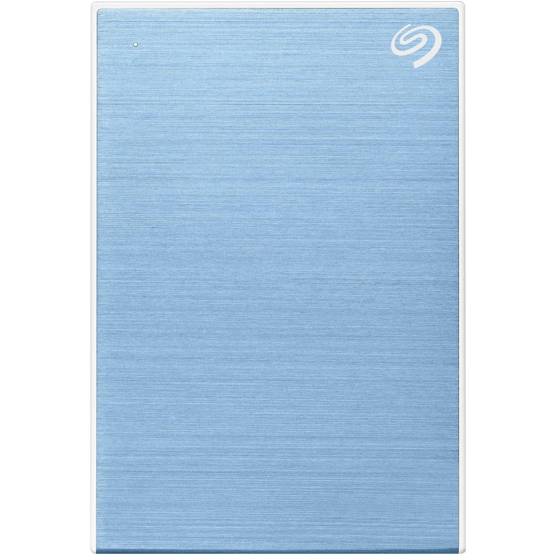 "Seagate One Touch STKB1000402 1 TB Portable Hard Drive - 2.5"" External - Light Blue"