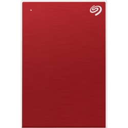 "Seagate One Touch STKB1000403 1 TB Portable Hard Drive - 2.5"" External - Red"
