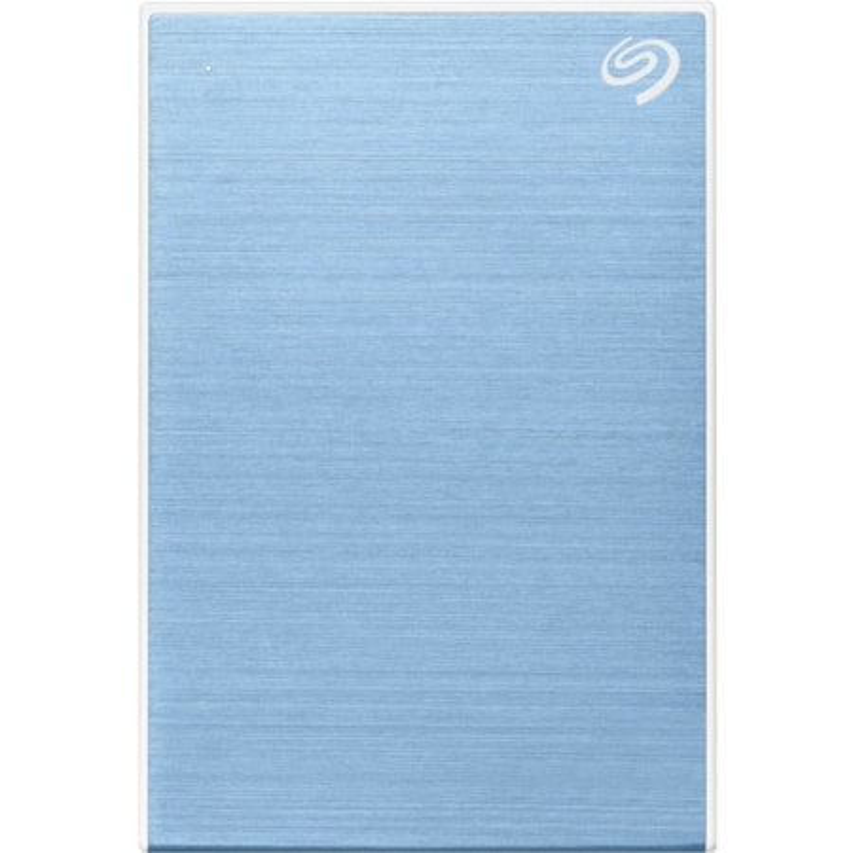 "Seagate One Touch STKB2000402 2 TB Portable Hard Drive - 2.5"" External - Light Blue"