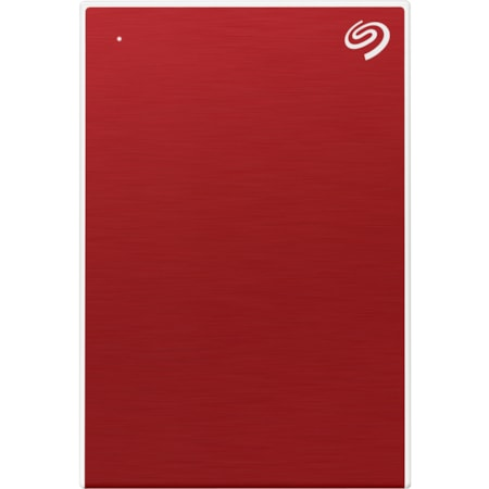 "Seagate One Touch STKB2000403 1.95 TB Portable Hard Drive - 2.5"" External - Red"