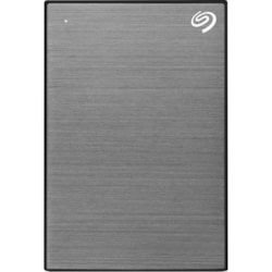 "Seagate One Touch STKB2000404 2 TB Portable Hard Drive - 2.5"" External - Space Gray"