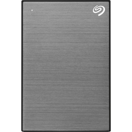 """Seagate One Touch STKB2000404 2 TB Portable Hard Drive - 2.5"""" External - Space Gray"""