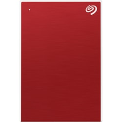 "Seagate One Touch STKC5000403 4.88 TB Portable Hard Drive - 2.5"" External - Red"
