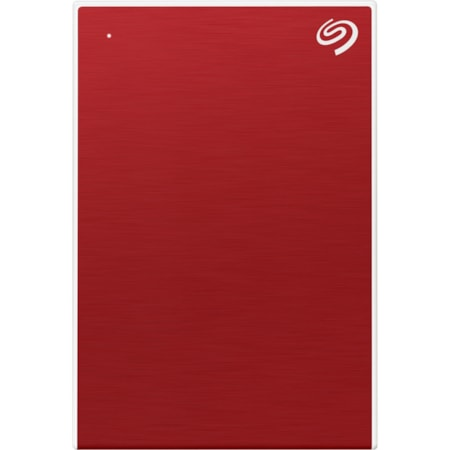 """Seagate One Touch STKC5000403 4.88 TB Portable Hard Drive - 2.5"""" External - Red"""