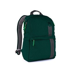 "STM Goods Banks Carrying Case (Backpack) for 38.1 cm (15"") Notebook - Botanical Green"