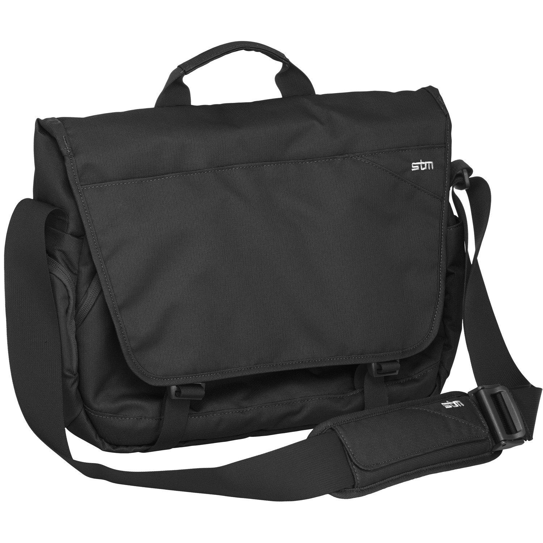 "STM Goods Radial Carrying Case (Messenger) for 38.1 cm (15"") Notebook - Black"