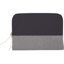"""STM Goods Grace Carrying Case (Sleeve) for 38.1 cm (15"""") Notebook - Grey"""