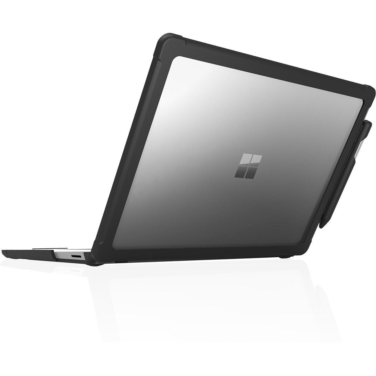 STM Goods Dux Case for Microsoft Notebook, Stylus - Transparent, Black