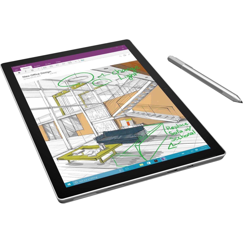"Microsoft Surface Pro 4 Tablet - 31.2 cm (12.3"") - 16 GB - Intel Core i7 (6th Gen) - 1 TB SSD - Windows 10 Pro - 2736 x 1824 - PixelSense - Silver"