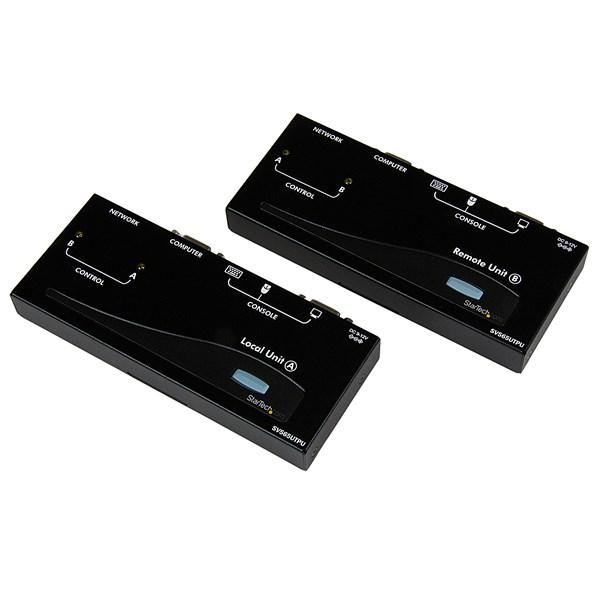 StarTech.com SV565UTPU Analog KVM Console/Extender - Wired