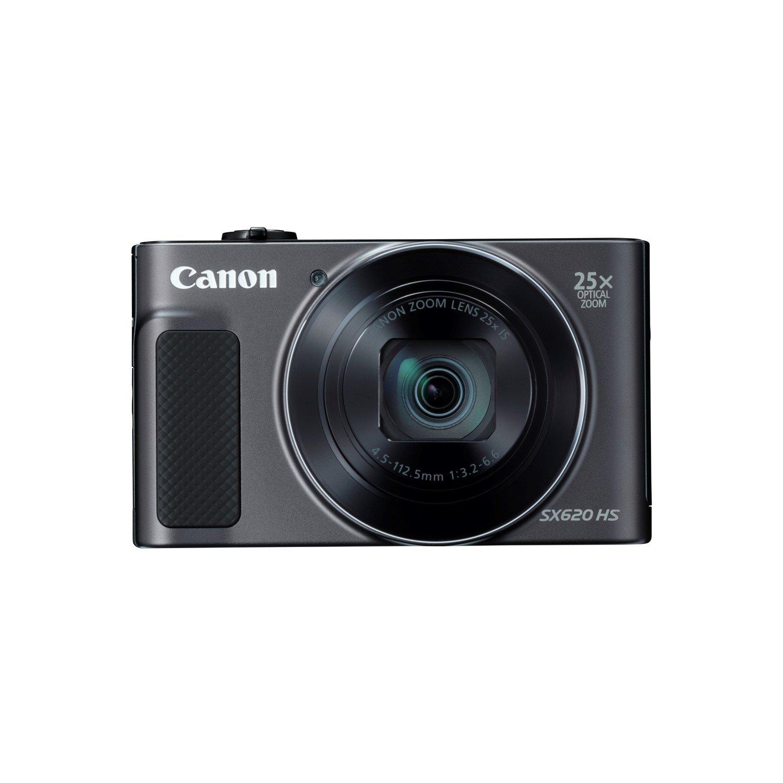 Canon PowerShot SX620 HS 20.2 Megapixel Compact Camera - Black