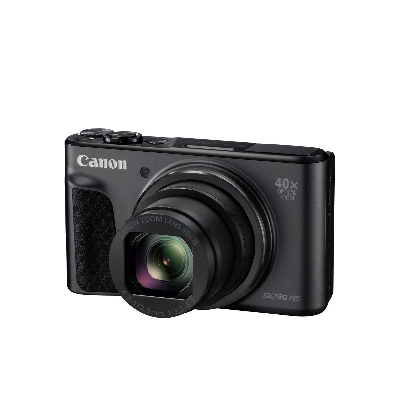 Canon PowerShot SX730 HS 20.3 Megapixel Compact Camera - Black