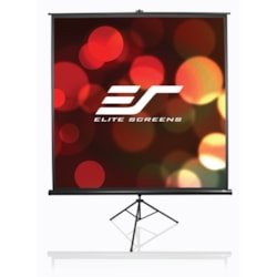 "Elite Screens Tripod T100UWH Projection Screen - 254 cm (100"") - 16:9 - Floor Mount"