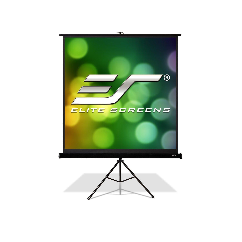"Elite Screens Tripod Pro T113UWS1-PRO Projection Screen - 287 cm (113"") - 1:1 - Floor Mount"