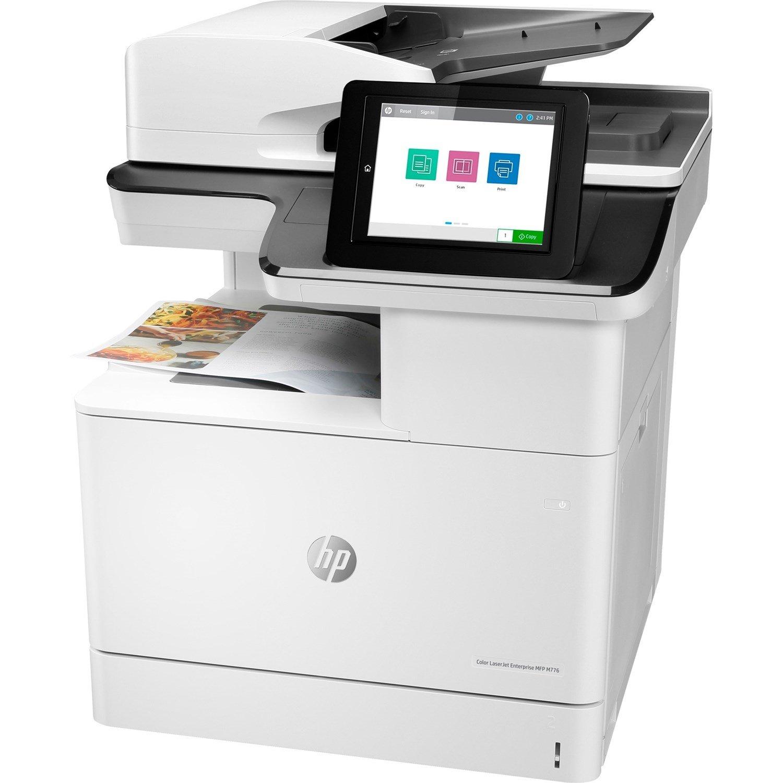 HP LaserJet Enterprise M776 M776dn Laser Multifunction Printer - Colour