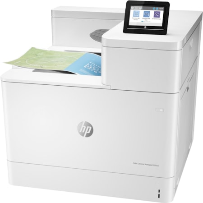 HP LaserJet Managed E85055dn Laser Printer - Colour