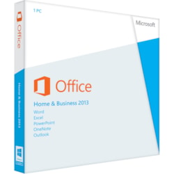 Microsoft Office 2013 Home and Business 32/64-bit - License and Media - 1 PC