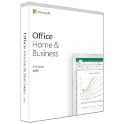 Microsoft Office 2019 Home & Business - Box Pack - 1 PC/Mac