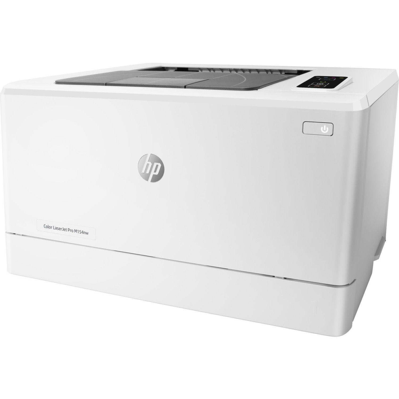 HP LaserJet Pro M154nw Laser Printer - Colour - 600 x 600 dpi Print - Plain Paper Print - Desktop