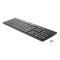 HP Keyboard - Wireless Connectivity - USB Interface - Black
