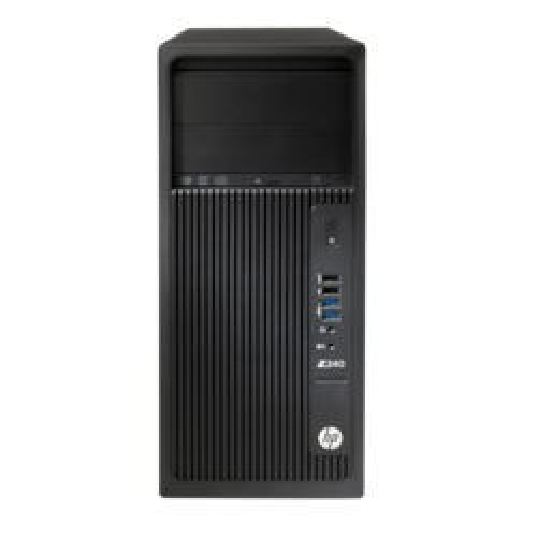 HPE Z240 Workstation - 1 x Intel Core i7 (6th Gen) i7-6700 Quad-core (4 Core) 3.40 GHz - 8 GB DDR4 SDRAM - 1 TB HDD - NVIDIA Quadro K620 2 GB Graphics - Windows 7 Professional 64-bit upgradable to Windows 10 Pro - Tower - Black