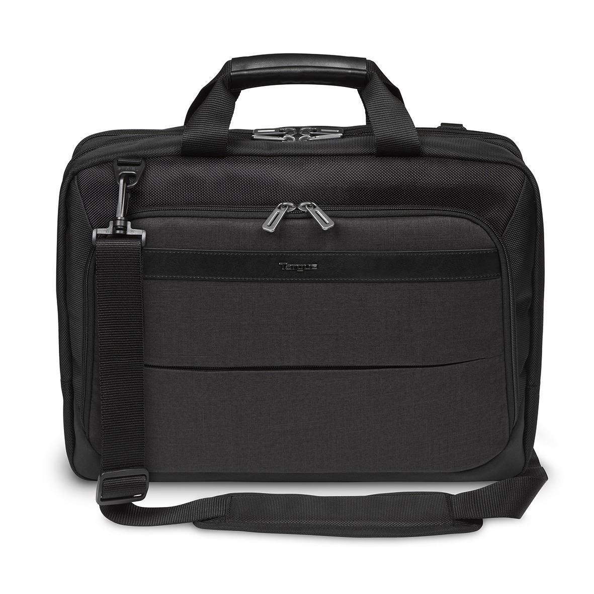 "Targus City Smart TBT915AU Carrying Case (Briefcase) for 39.6 cm (15.6"") Notebook - Black/Grey"