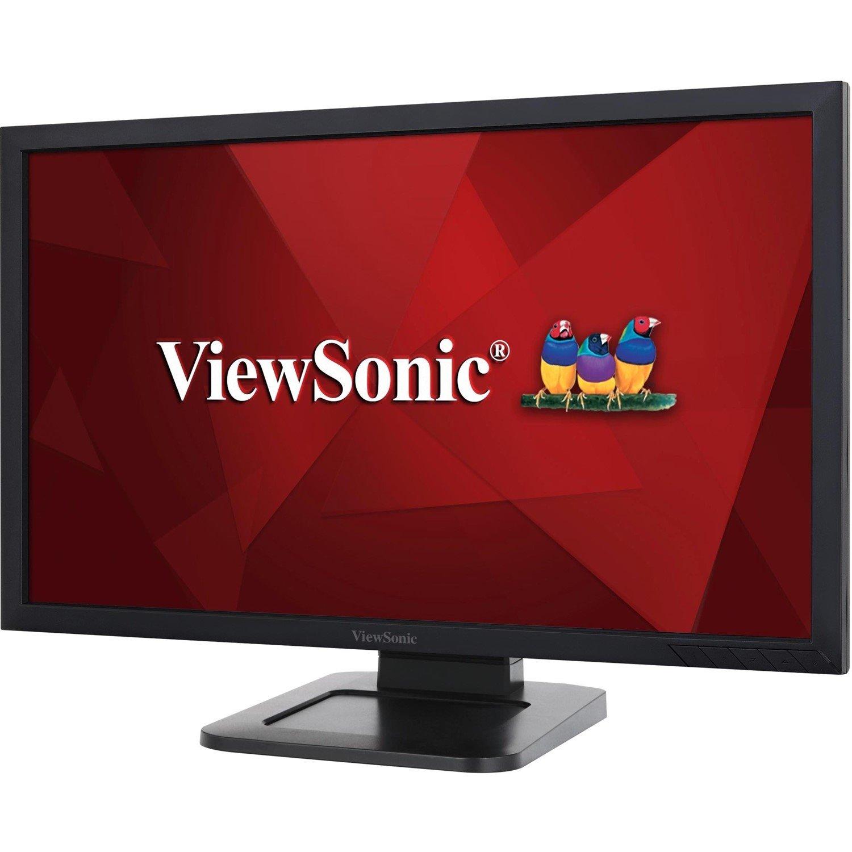 "Viewsonic TD2421 61 cm (24"") LCD Touchscreen Monitor - 16:9 - 5 ms"