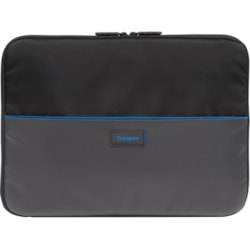 "Targus Work-In TED012GL Carrying Case (Sleeve) for 29.5 cm (11.6"") Accessories, Notebook, Chromebook - Black/Grey"