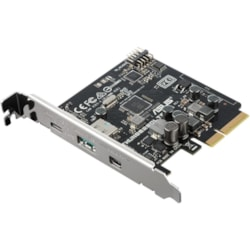 Asus ThunderboltEX 3 Thunderbolt/USB Adapter - PCI Express 3.0 x4 - Plug-in Card
