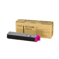 Kyocera TK-510M Original Toner Cartridge - Magenta