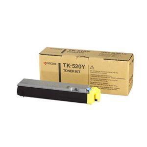 Kyocera TK-520Y Original Toner Cartridge - Yellow
