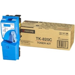 Kyocera TK-820C Original Toner Cartridge - Cyan