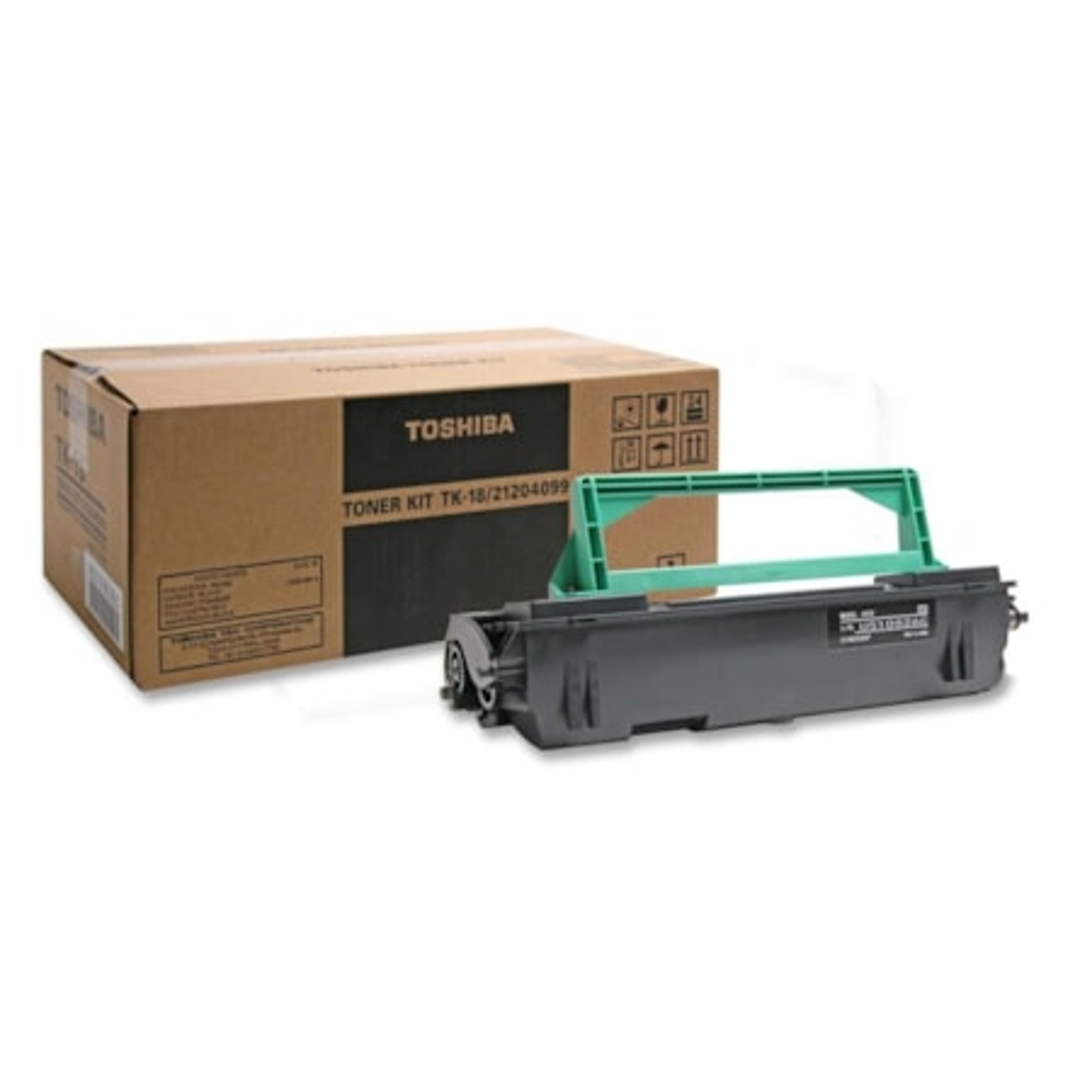 Toshiba TK18 Toner Cartridge - Black