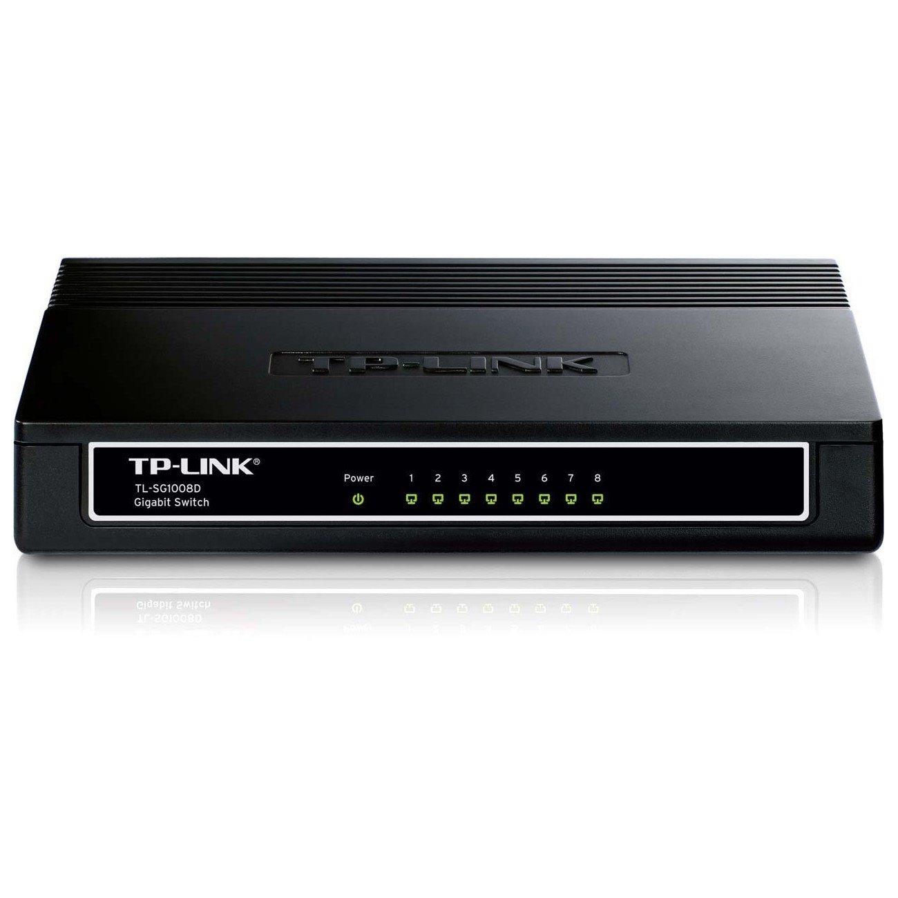 TP-LINK TL-SG1008D 8 Ports Ethernet Switch