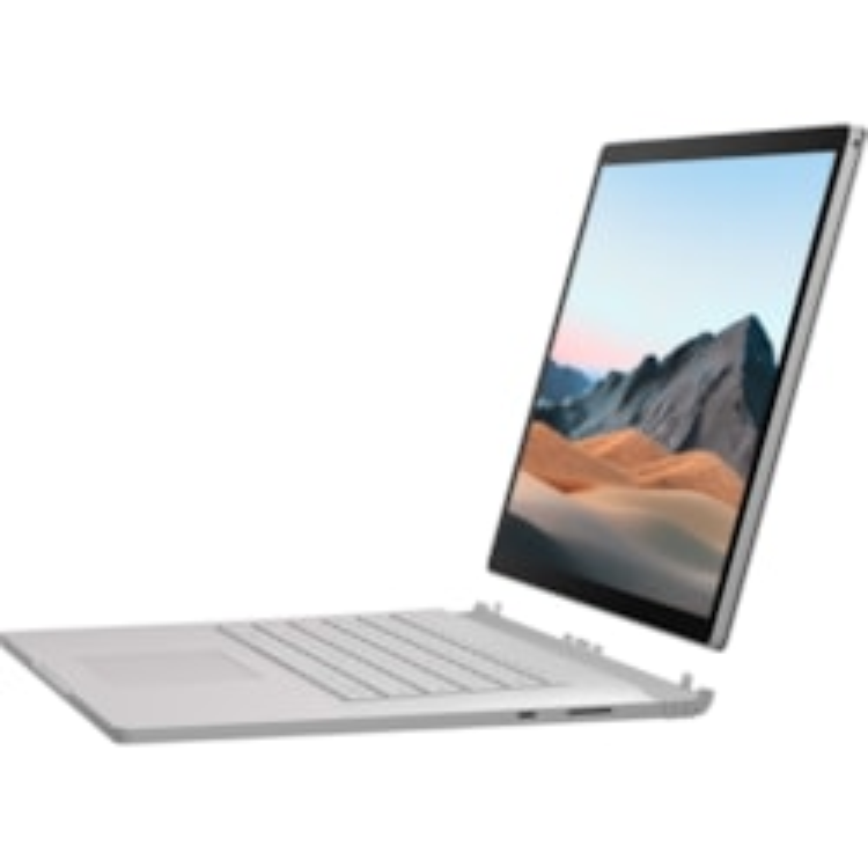 "Microsoft Surface Book 3 38.1 cm (15"") Touchscreen 2 in 1 Notebook - 3240 x 2160 - Intel Core i7 (10th Gen) i7-1065G7 Quad-core (4 Core) 1.30 GHz - 8 GB RAM - 512 GB SSD - Platinum"