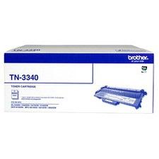 Brother TN-3340 Original Toner Cartridge - Black * HL-5440D HL-5450DN HL-5470DW HL-6180DW MFC-8510DN MFC-8910DW MFC-8950DW DCP-8155DN