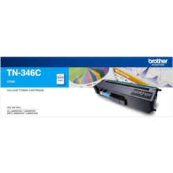 Brother TN-346C Original Toner Cartridge - Cyan