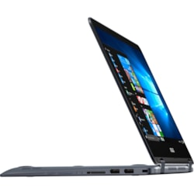 "Asus VivoBook Flip 14 TP410UA-EC217T 35.6 cm (14"") Touchscreen LCD Notebook - Intel Core i5 (7th Gen) i5-7200U Dual-core (2 Core) 2.50 GHz - 8 GB DDR4 SDRAM - 256 GB SSD - Windows 10 Home 64-bit - 1920 x 1080 - Convertible - Grey"