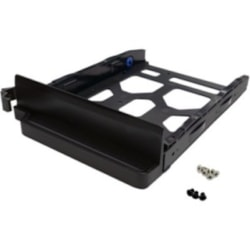 "QNAP TRAY-35-NK-BLK04 Drive Bay Adapter for 3.5"" Internal - Black"