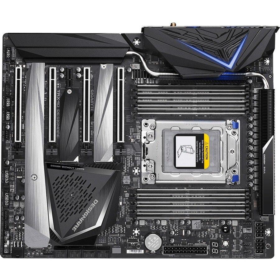 Gigabyte TRX40 DESIGNARE Desktop Motherboard - AMD Chipset - Socket sTRX4