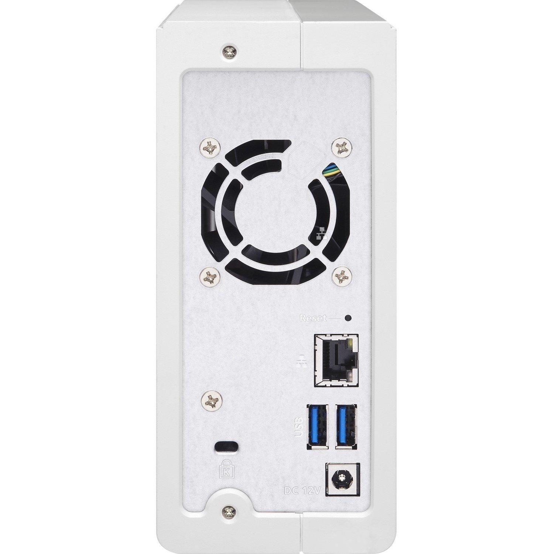 QNAP Turbo NAS TS-131P 1 x Total Bays SAN/NAS Storage System - Tower